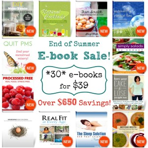 Summer Sale – 30 e-books for just $39 (over $650 value!)