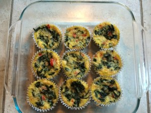 Healthy Breakfast Quiche Cups