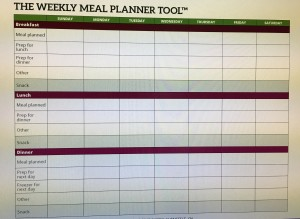 7 Tips to Help With Meal Planning
